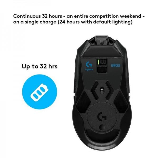 Logitech G903 Lightspeed Wireless Gaming Mouse Souris Logitech, Ultra Pc Gamer Maroc