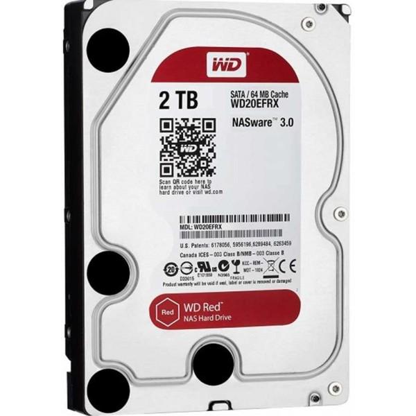 "Western Digital WD Red NAS 3.5"" 2TB Disques durs et SSD Western Digital, Ultra Pc Gamer Maroc"