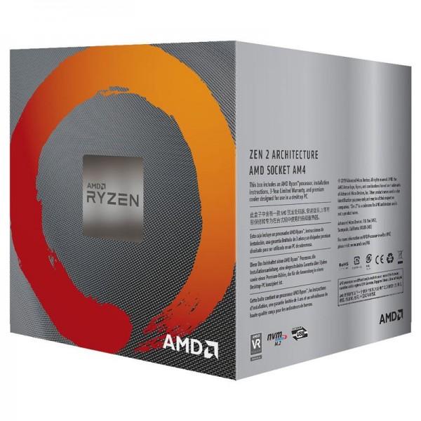 AMD Ryzen 5 3600X Wraith Spire (3.8 GHz / 4.4 GHz) Processeurs AMD, Ultra Pc Gamer Maroc