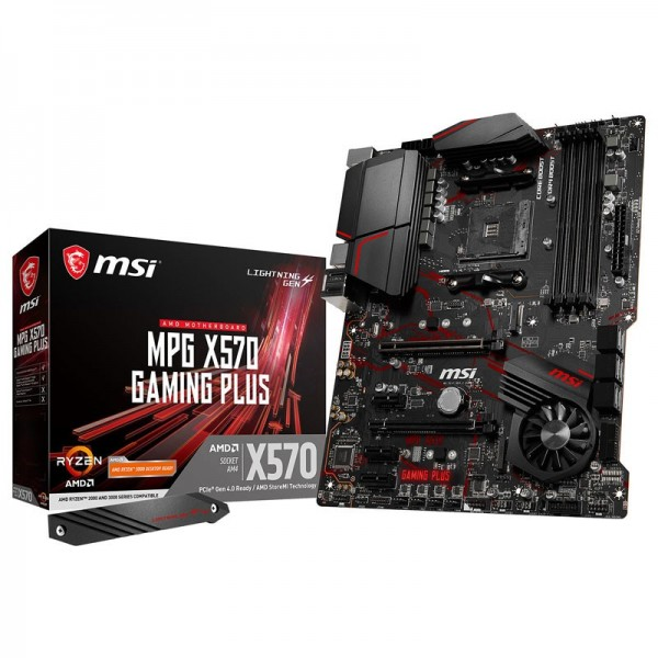 MSI MPG X570 GAMING PLUS Cartes mères MSI, Ultra Pc Gamer Maroc