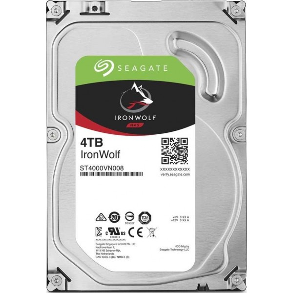"Seagate IronWolf 3.5"" 4TB Disques durs et SSD Seagate, Ultra Pc Gamer Maroc"