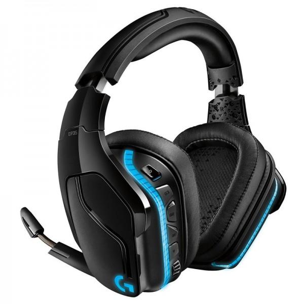Logitech G935 Wireless 7.1 Surround Lightsync RGB Headset (Noir) Casques Logitech, Ultra Pc Gamer Maroc