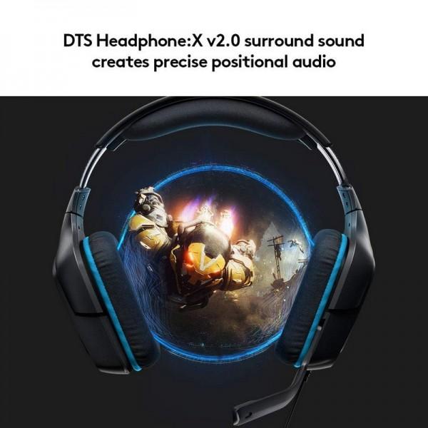 Logitech G432 7.1 Surround Sound Casques Logitech, Ultra Pc Gamer Maroc