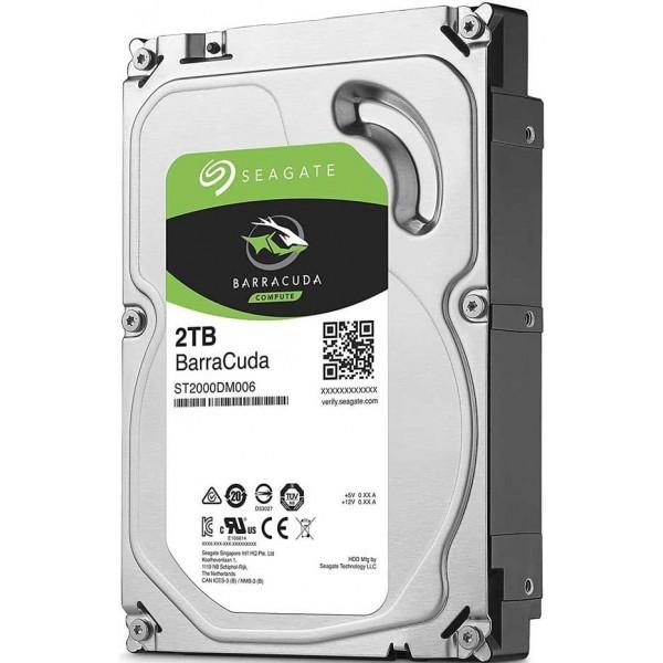 "Seagate BarraCuda 3.5"" 2TB Disques durs et SSD Seagate, Ultra Pc Gamer Maroc"