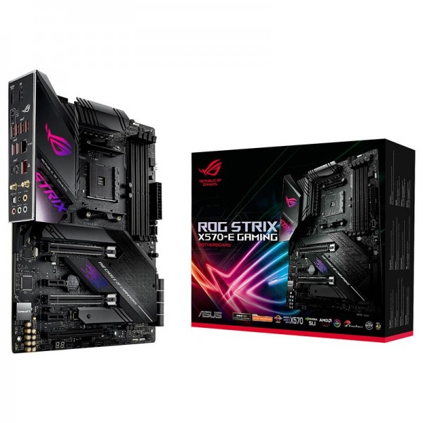 ASUS ROG STRIX X570-E GAMING Cartes mères ASUS, Ultra Pc Gamer Maroc
