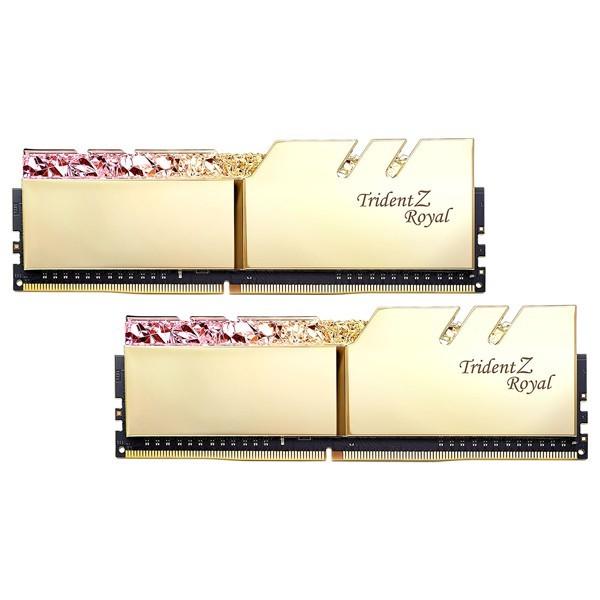 G.Skill Trident Z Royal Gold 32Go (2x 16Go) DDR4 3200 MHz CL16 Mémoire vive PC G.Skill, Ultra Pc Gamer Maroc