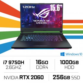 ASUS ROG STRIX G G531GV-AL023T Intel i7-9750H/16GB/1TB+256GB SSD/RTX2060 15.6''/Win10 PC Portables Gamer ASUS, Ultra Pc Gamer...
