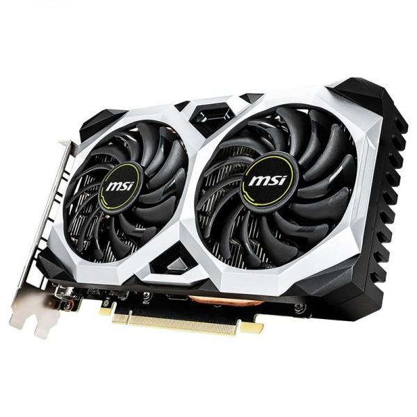 MSI GeForce GTX 1660 VENTUS XS OC 6GB GDDR5 Cartes graphiques MSI, Ultra Pc Gamer Maroc