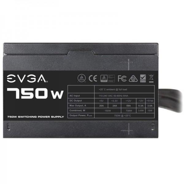 EVGA 750 N1 80PLUS 750W Alimentations PC EVGA, Ultra Pc Gamer Maroc