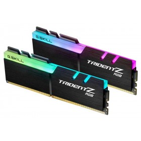 G.Skill Trident Z RGB 16Go (2x 8Go) DDR4 3200 MHz CL16 (Pour AMD) Mémoire vive PC G.Skill, Ultra Pc Gamer Maroc
