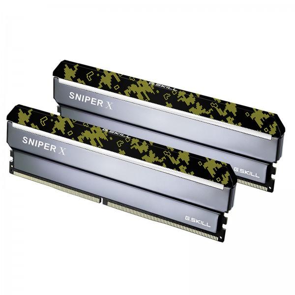 G.Skill Sniper X Series DIGITAL 32Go (2x 16Go) DDR4 3200MHz CL16 Mémoire vive PC G.Skill, Ultra Pc Gamer Maroc