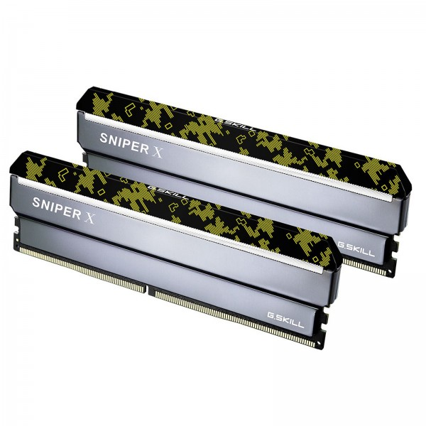 G.Skill Sniper X Series DIGITAL 32Go (2x 16Go) DDR4 3200MHz CL16 Mémoire vive PC G.Skill, Ultra Pc Gamer Maroc