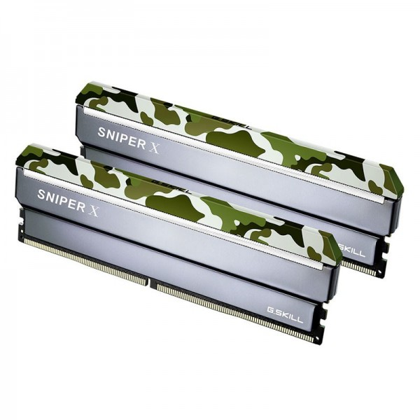 G.Skill Sniper X Series CLASSIC 32Go (2x 16Go) DDR4 3200MHz CL16 Mémoire vive PC G.Skill, Ultra Pc Gamer Maroc