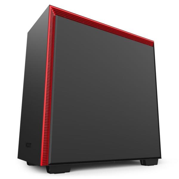 NZXT H710 Noir/Rouge Boitiers PC Nzxt, Ultra Pc Gamer Maroc