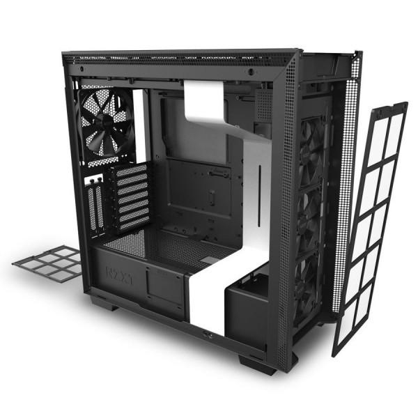 NZXT H710i Blanc Boitiers PC Nzxt, Ultra Pc Gamer Maroc