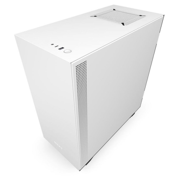 NZXT H510i Blanc RGB Boitiers PC Nzxt, Ultra Pc Gamer Maroc