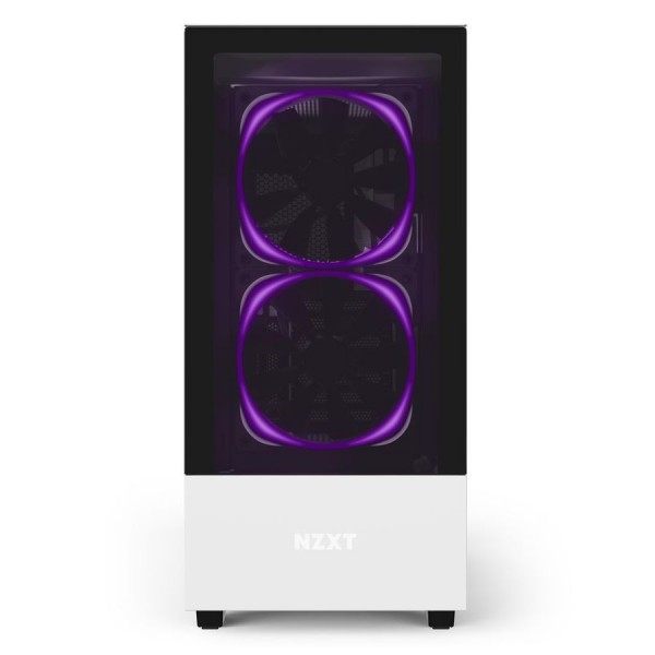 NZXT H510 Elite Blanc Boitiers PC Nzxt, Ultra Pc Gamer Maroc