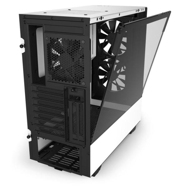 NZXT H510 Elite Blanc Boitiers PC Nzxt, Ultra Pc Gamer Maroc