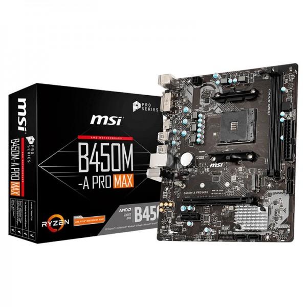 MSI B450M-A PRO MAX Cartes mères MSI, Ultra Pc Gamer Maroc