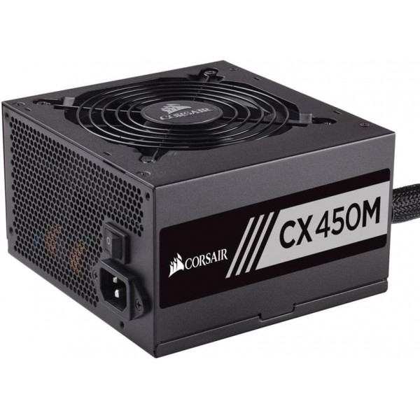Corsair CX450M 80PLUS Bronze 450W Alimentations PC Corsair, Ultra Pc Gamer Maroc