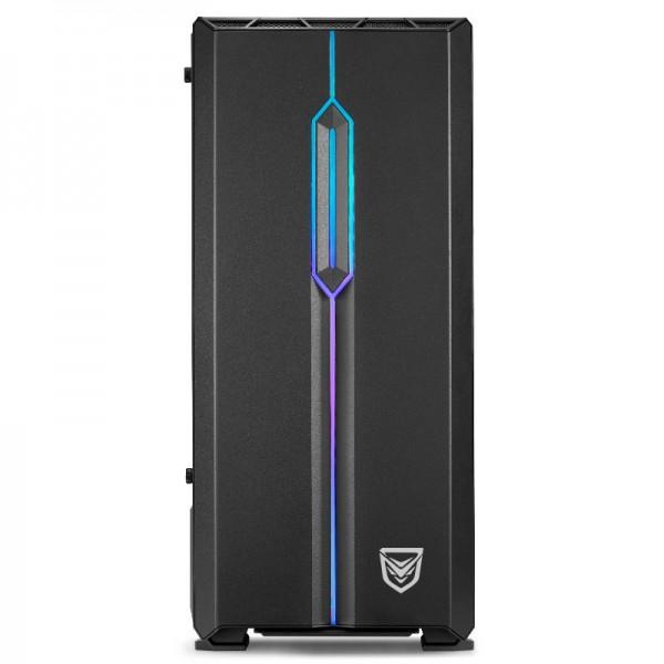 Nfortec Antares RGB (noir) Boitiers PC Nfortec, Ultra Pc Gamer Maroc