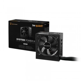 be quiet! System Power 9 600W CM 80PLUS Bronze Alimentations PC be quiet!, Ultra Pc Gamer Maroc