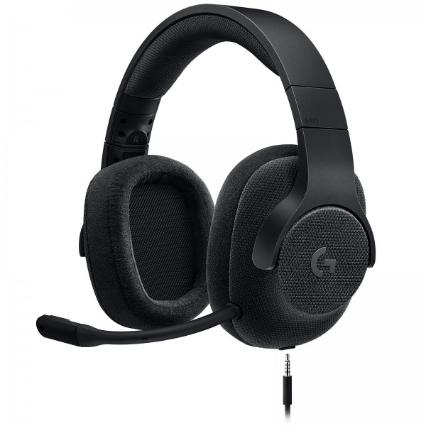 Logitech G433 7.1 Surround Sound Wired Gaming Headset Noir Casques Logitech, Ultra Pc Gamer Maroc