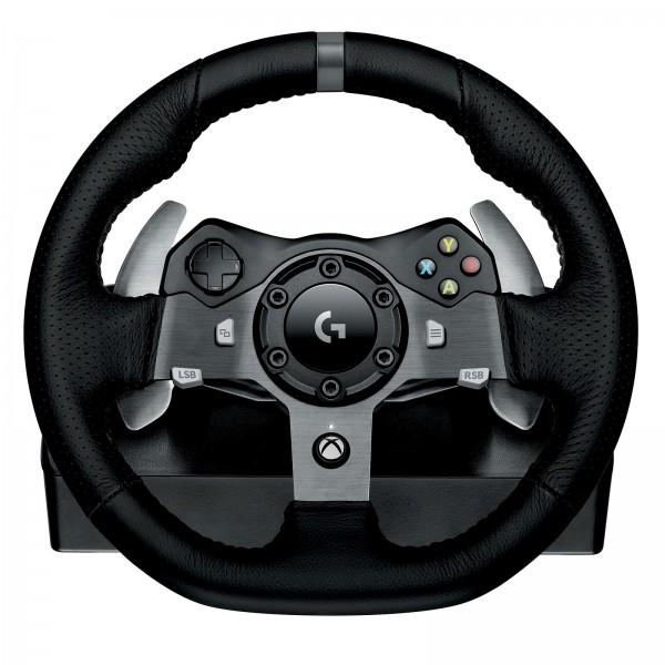 Logitech G920 Driving Force Racing Wheel Périphériques de jeu Logitech, Ultra Pc Gamer Maroc