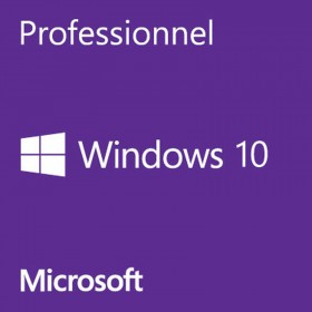 Microsoft Windows 10 Professionnel 64 bits - Licence OEM Système d'exploitation Microsoft, Ultra Pc Gamer Maroc