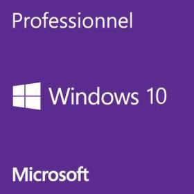 Microsoft Windows 10 Professionnel 64 bits - Licence OEM Système d'exploitation Microsoft, Ultra Pc Gamer Maroc