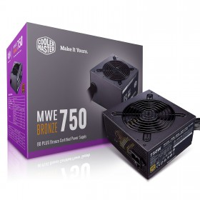 Cooler Master MWE 80PLUS Bronze 750W V2 Alimentations PC Cooler Master, Ultra Pc Gamer Maroc