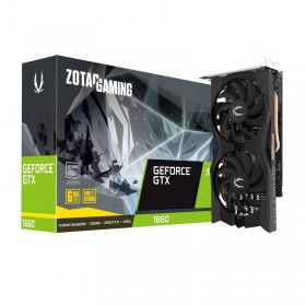 ZOTAC GeForce GTX 1660 Twin Fan 6GB GDDR5 Cartes graphiques Zotac, Ultra Pc Gamer Maroc