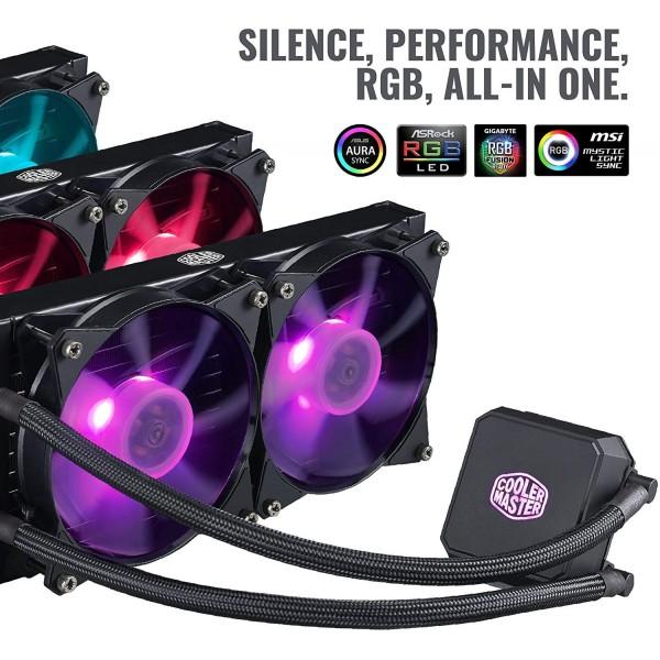 Cooler Master MasterLiquid LC240E RGB Refroidissement Cooler Master, Ultra Pc Gamer Maroc