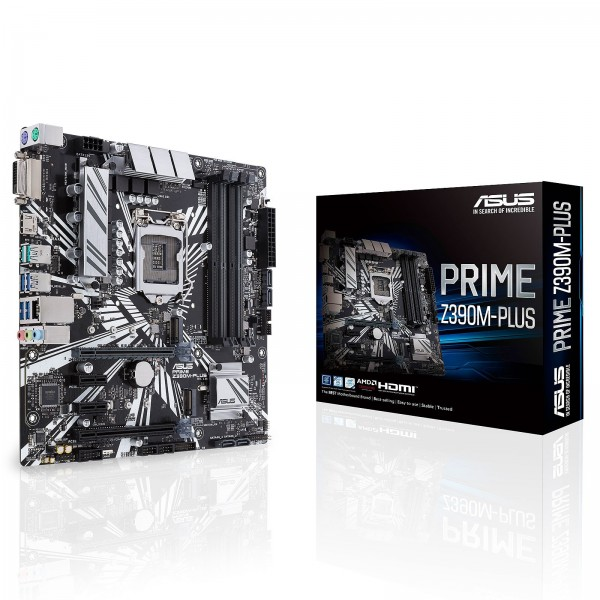 ASUS PRIME Z390M-PLUS Cartes mères ASUS, Ultra Pc Gamer Maroc