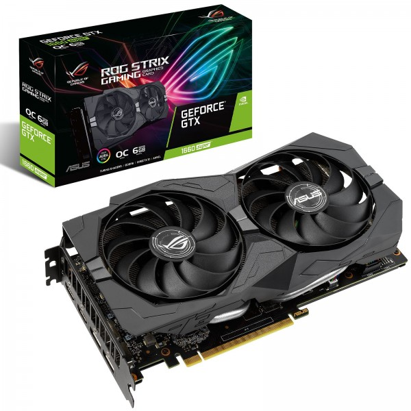 ASUS GeForce GTX 1660 SUPER ROG STRIX OC GAMING 6GB GDDR6 Cartes graphiques ASUS, Ultra Pc Gamer Maroc