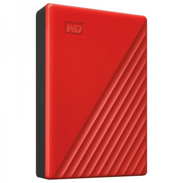 WD My Passport 4 To Rouge (USB 3.0) Disques durs externes Western Digital, Ultra Pc Gamer Maroc