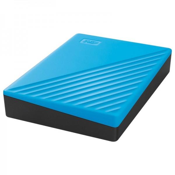 WD My Passport 4 To Bleu (USB 3.0) Disques durs externes Western Digital, Ultra Pc Gamer Maroc