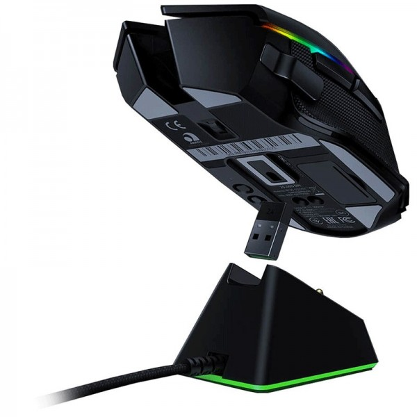 Razer Basilisk Ultimate Wireless + Dock Souris Razer, Ultra Pc Gamer Maroc