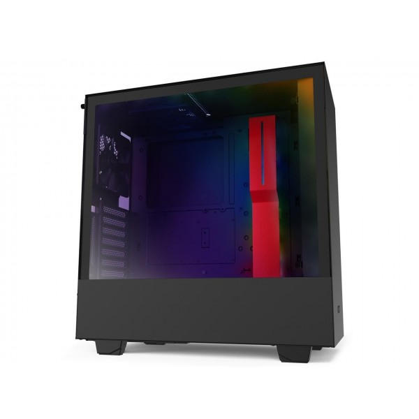 NZXT H510i Noir/Rouge RGB Boitiers PC Nzxt, Ultra Pc Gamer Maroc