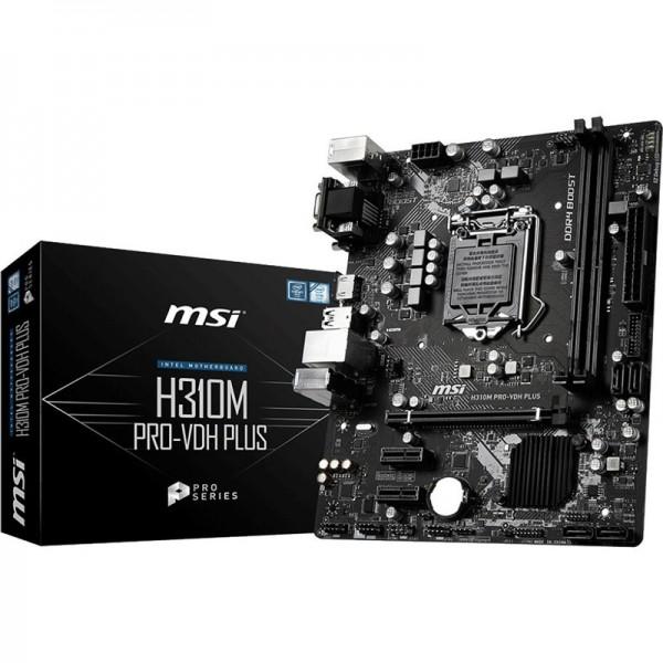 MSI H310M PRO-VDH PLUS Composants MSI, Ultra Pc Gamer Maroc
