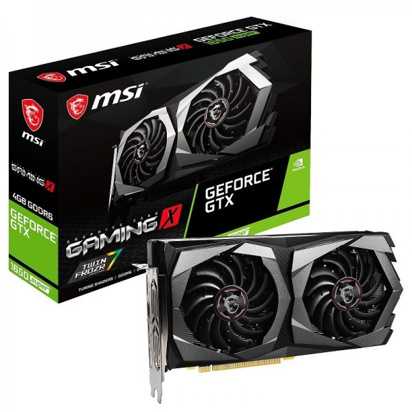 MSI GeForce GTX 1650 SUPER GAMING X 4GB GDDR6 Cartes graphiques MSI, Ultra Pc Gamer Maroc