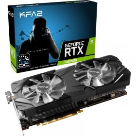 KFA2 GeForce RTX 2080 SUPER EX-OC 1 Click 8GB GDDR6 Cartes graphiques KFA2, Ultra Pc Gamer Maroc