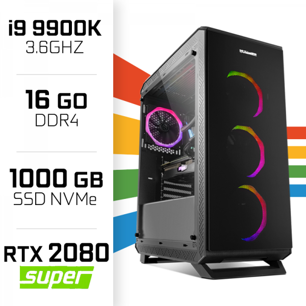 PC Gamer UltraPC i9 Overclock GEN9-II 9900K/1TB SSD/16GB/RTX2080SUPER PC Gamer Ultra UltraPC, Ultra Pc Gamer Maroc