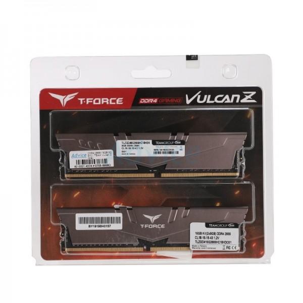 Team Group VULCAN Z 16Go (2x8Go) DDR4 3000MHz CL16 Mémoire vive PC Team Group, Ultra Pc Gamer Maroc