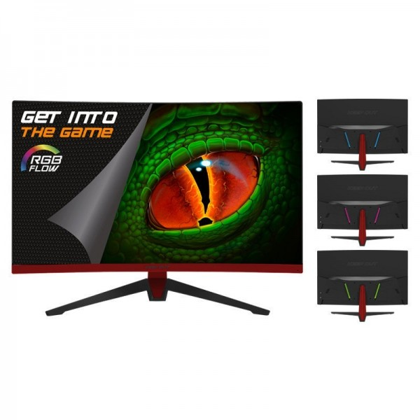 """Keep Out XGM27RGBF 27"""" LED 165Hz Curved Moniteurs Keep Out, Ultra Pc Gamer Maroc"""