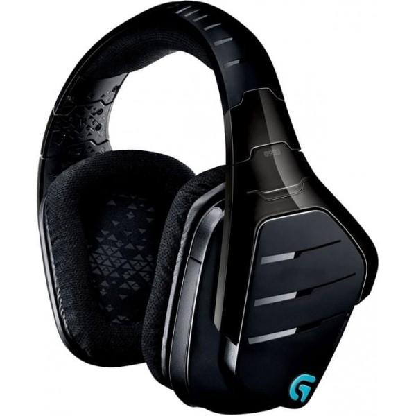 Logitech G933 Artemis Spectrum RGB Wireless 7.1 Surround Gaming Headset (Noir) Casques Logitech, Ultra Pc Gamer Maroc