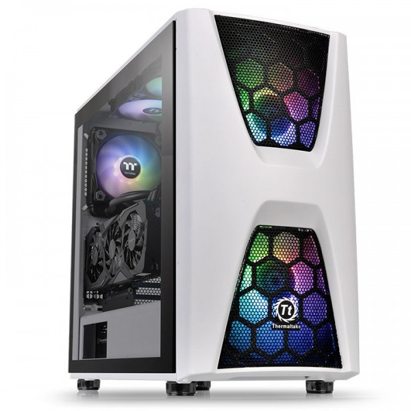 Thermaltake Commander C34 TG ARGB Edition Boitiers PC Thermaltake, Ultra Pc Gamer Maroc