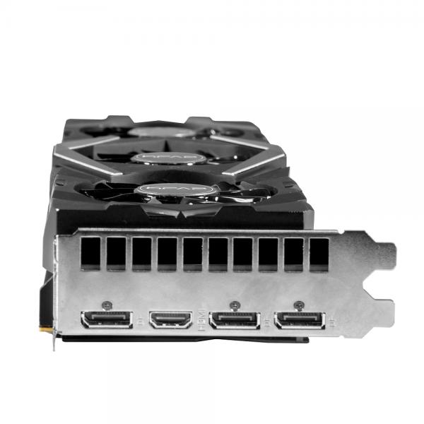 KFA2 GeForce RTX 2080Ti EX 1 Click OC V2 11GB GDDR6 Cartes graphiques KFA2, Ultra Pc Gamer Maroc