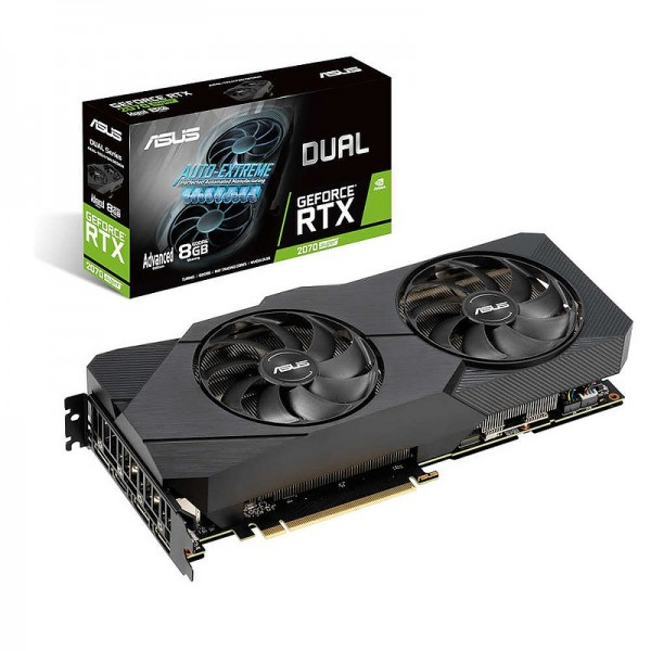 ASUS GeForce RTX 2070 SUPER DUAL Advanced 8GB GDDR6 Cartes graphiques ASUS, Ultra Pc Gamer Maroc