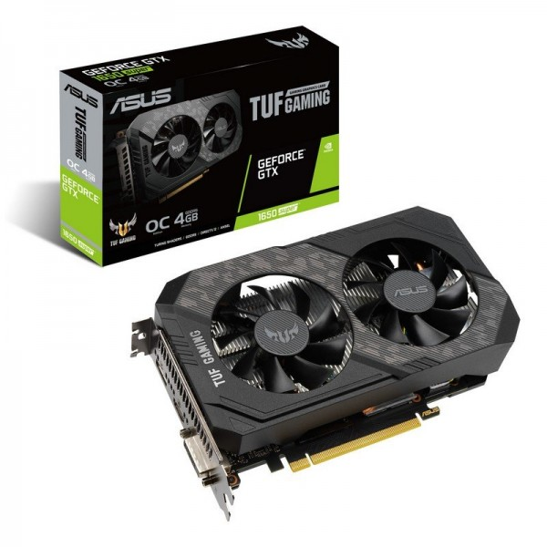 ASUS GeForce GTX 1650 SUPER TUF Gaming OC 4GB GDDR6 Cartes graphiques ASUS, Ultra Pc Gamer Maroc